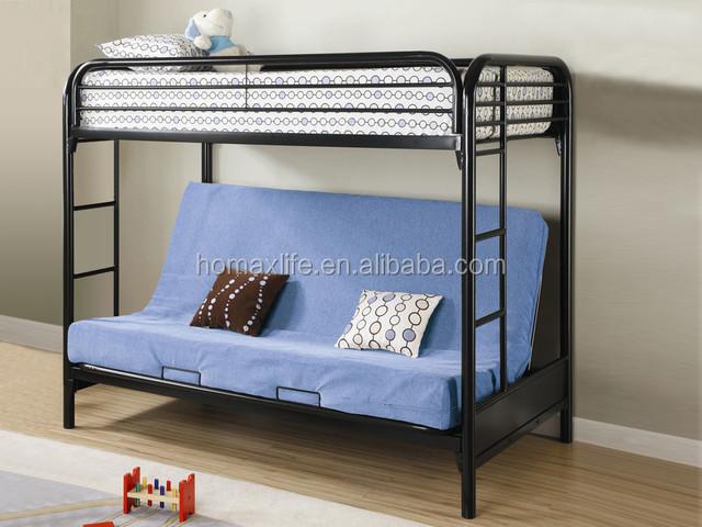 Etagenbett Schlafsofa : Schlafzimmermöbel schlafsofa doppelstock bett triple metall sofa