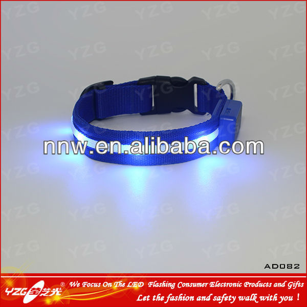 durable led rechargeable dog leads and collars