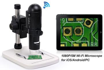 Neueste wifi p hd mikroskop für iphone android ipad pc