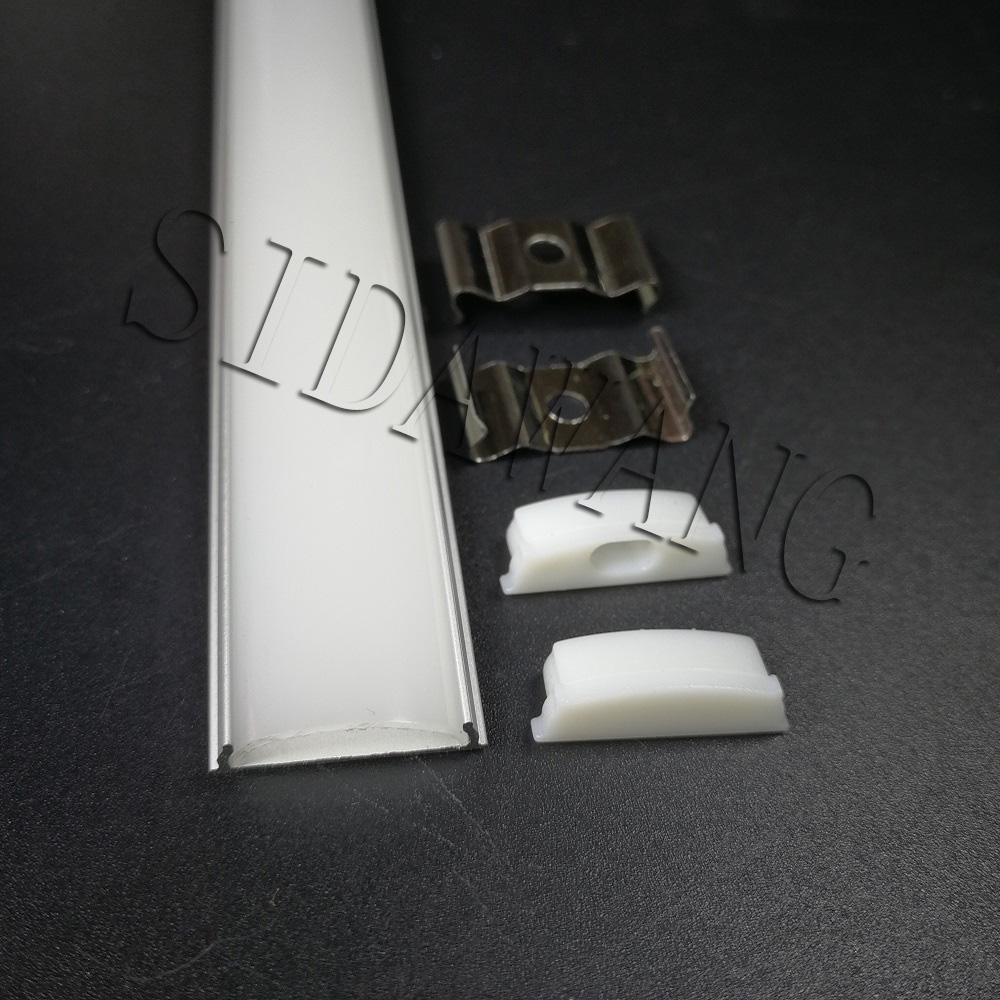 Bendable aluminum profile for led strip