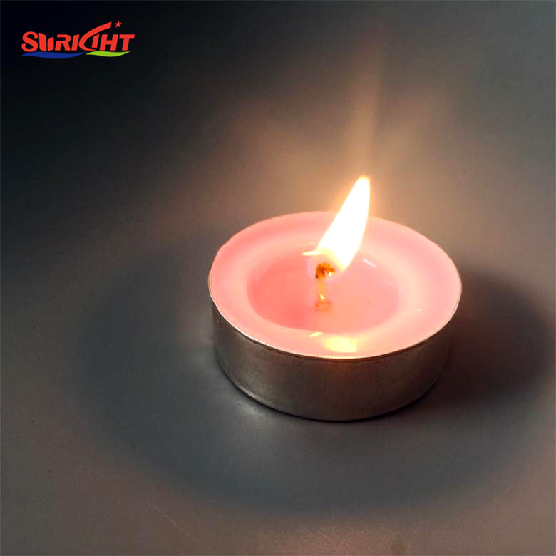 Paraffin Wax Hand Tealight Gift Set Candle