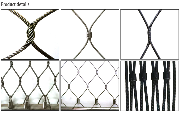 latest company news about Balustrade Wire Rope mesh