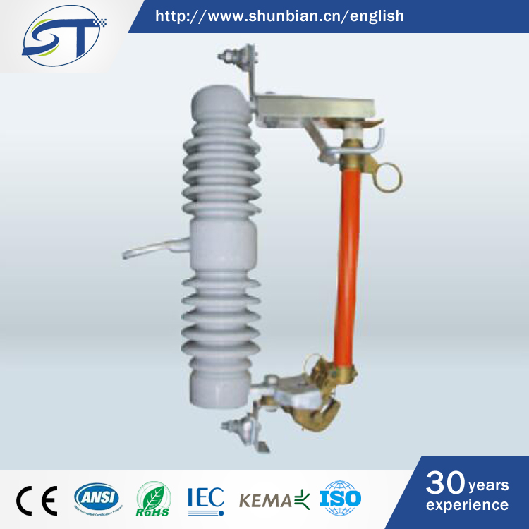 SHUNTE Factory 12KV-15KV Outdoor Procelain Polymer Drop Out Fuse Cutout Switch