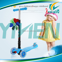 three wheel adult kick scooter cute mini scooter for children kids