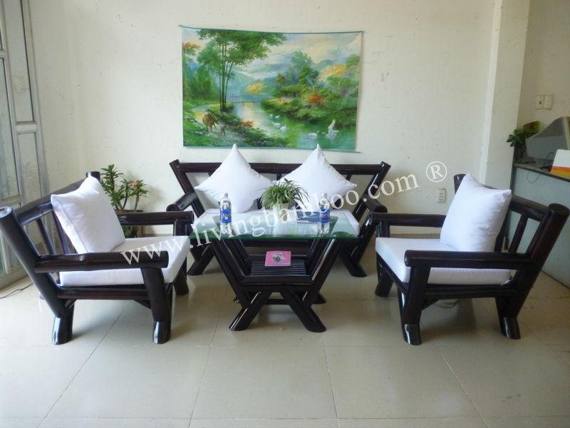 Miami Dark Brown Bamboo Living Room Furniture - Buy Bamboo Living  Room,Bamboo Living Room Sofa,Luxury Living Room Set Product on Alibaba.com