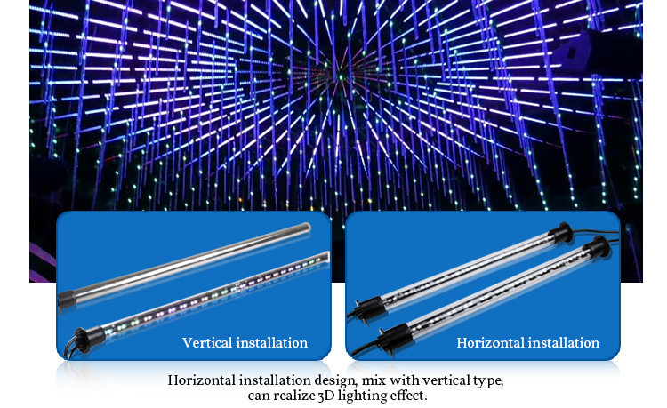 New Led Chasing Christmas Lights,Led Meteor Shower Light For Disco ...
