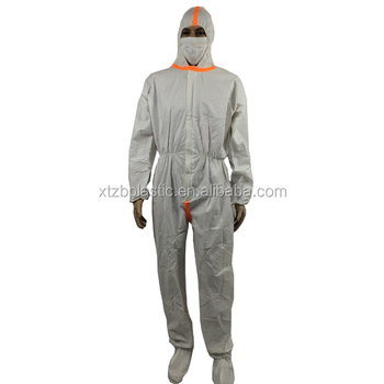 Disposable fire retardant industrial nomex coverall