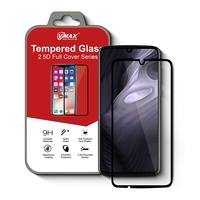 2.5D Full Glue and Full Coverage Tempered Glass Screen Protector For Moto Z4 play