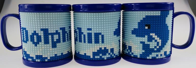 Souvenir 3d Plastic Brick Lego Mug Name Soft Pvc Kids Personalized ...