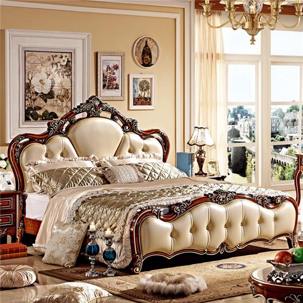 2015 New Design Luxury / Bedroom Set Bedroom Sets Furniture