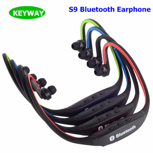 Sport S9 Bluetooth Earphone CSR 4.0 GYM Running Headset Great Bass Speaker Wireless Headphone For ALL Moblie Phone