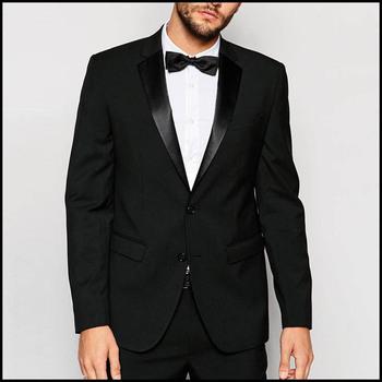 abc11e1a67313 Elegante 2 unidades pantalón conjunto 100% tejido de lana negro escudo Pant para  hombre traje