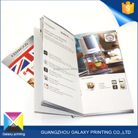 Customized size free design fashion offset printing glossy art paper accountants supply house/electronic parts catalog