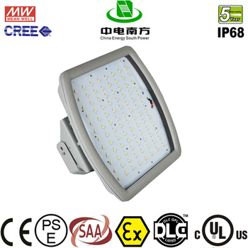 CESP ATEX/UL844 listed 40W 60W 80W 100W 150W 185W 200W lamp explosion proof led lighting