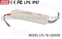 LPL-18-36 18w Meanwell Led Driver / power Supply/CE FC LPS