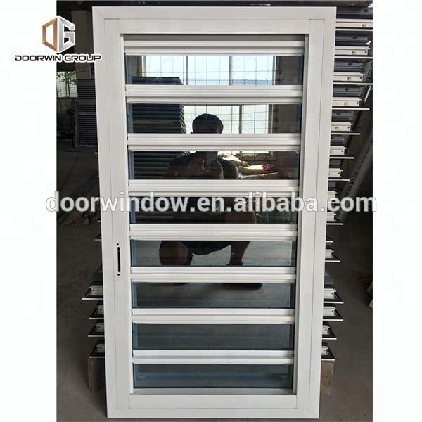 aluminum shutter window secure glass shutter openable plantation louver fireproof window