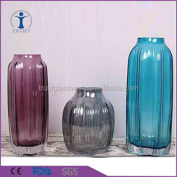China Red Glass Flower Vase Wholesale Alibaba