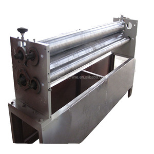 Corrugated Carton Box Cardboard Sheet Pasting Making Machine