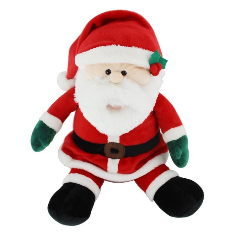 christmas product christmas elf plush toyplush musical christmas toysinging dancing plush - Stuffed Santa Claus