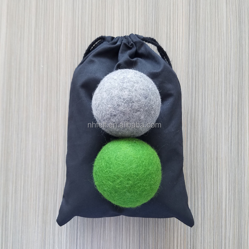 SoSoft Laundry Combo Package 100% Organic SoSoft Wool Dryer Balls and set of 4 SoSoft Delicates Laundry Wash Bags