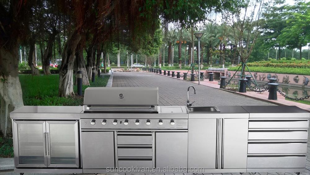 edelstahl outdoor grill k che wandschrank produkt id 60319850336