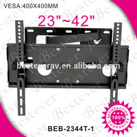 Multifunctional metal plasma lcd led BEB-2344T-1 tv bracket with security lock with good price