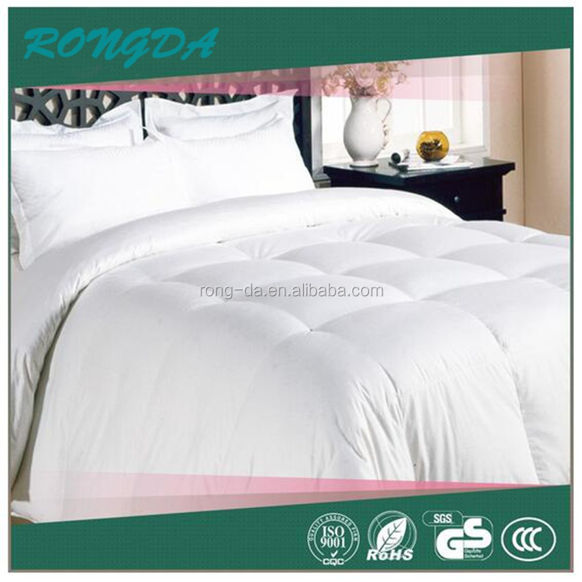 cotton quilts made, jacquard feather quilt, high quality goose down quilt/comforter/ duvet
