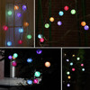outdoor holiday lighting chain / holiday party light / led patio string lights
