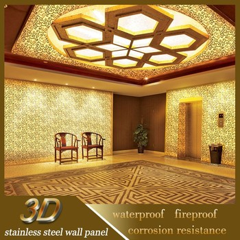 Wire Mesh Decorative Suspended Jewellery Showroom Ceiling Design