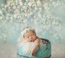 150cm*200cm backgrounds newborn props and backdrops flower photography background baby for photo studio 5161