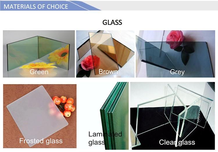 Design modern windows wrought iron designs swing casement windows with factory price