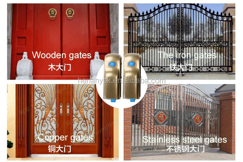 High Sensitivity Stability Automatic Intelligent Gate Opener With Remote Control