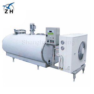 SS304/316 dairy processing machines horizontal milk cooling tank