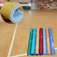 Unique style high gloss basketball court wood flooring,customized pvc vinyl flooring for basketball