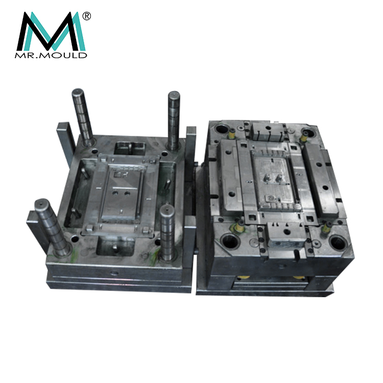 Custom mold design for plastic injection manufacture, phone cover injection mold maker