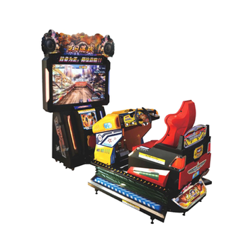 "3d Arcade Game Machine Car Racing Game Machine 3d 47"" Outrun Car Games"