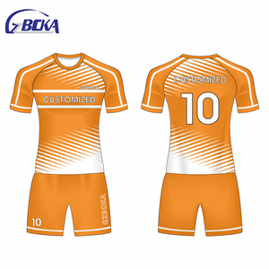 GZBOKA thai uniforms jersey kit top qualite college jersey football uniforms