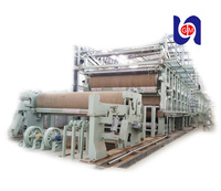 Fluting paper production line used recycle carton making machine equipment for kraft paper production