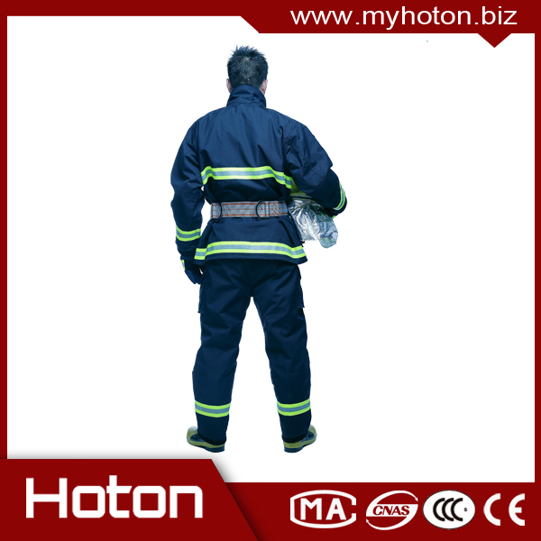 Hot Selling Hoton En 469 Fire Fighting Suit,Nomex Iiia /aramid ...