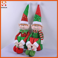 New christmas decorative plush toy christmas elf doll