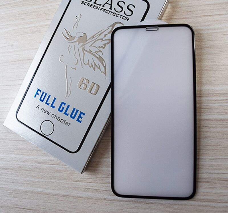 high quality 2.5D Silk printing full glue Screen Protector 2.5D curved Tempered Glass Film for Iphone X xr xsmax  5.8 6.1 6.5