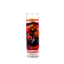 religious glass jar 7 day long burning church candle