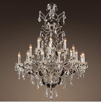Vintage Rustic Crystal Chandelier Lighting Candle Chandeliers Pendant Lamp Hanging Light For Dining Room Living Room Buy Smoky Crystal