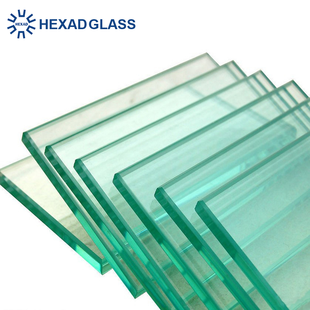 HEXAD 4mm 5mm 6mm Laminated Tempered Glass with High Quality