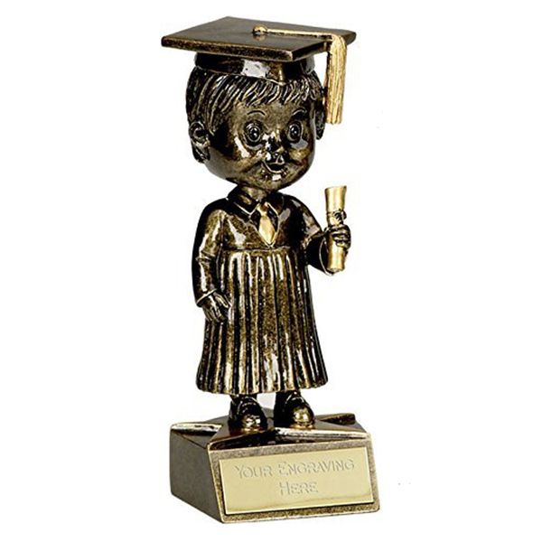 Custom Unique Graduation Souvenir Gift Plastics Trophy