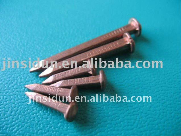 Copper Boat Nails/rose Head Square Shank Boat Nail/ Copper Nail ...