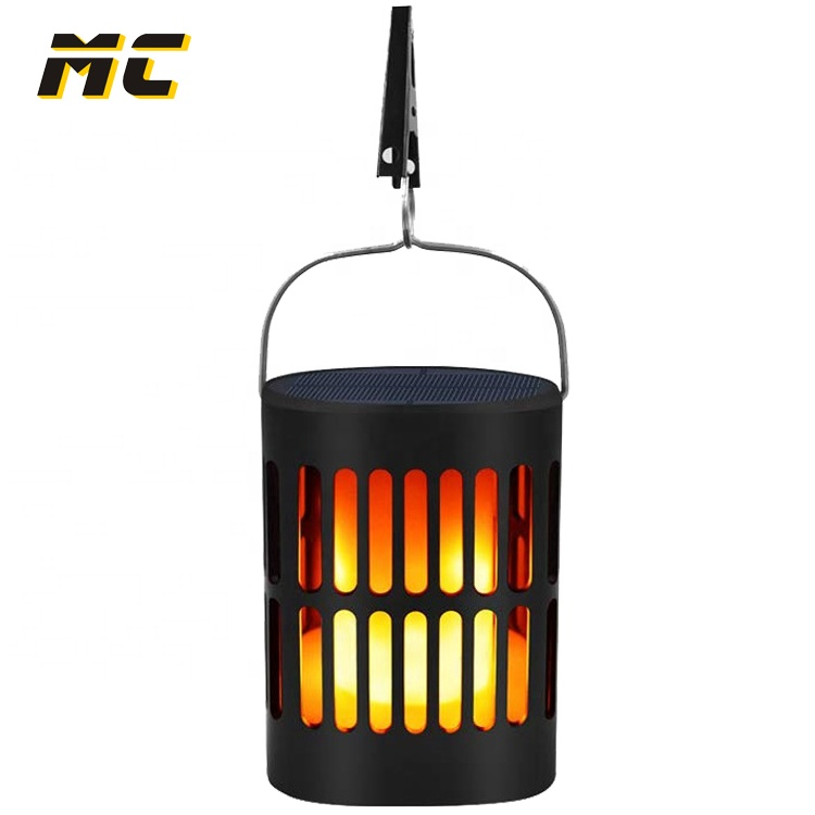 Fire Flame lamp Burning Lantern LED Portable Light Outdoor Hiking ABS plastic