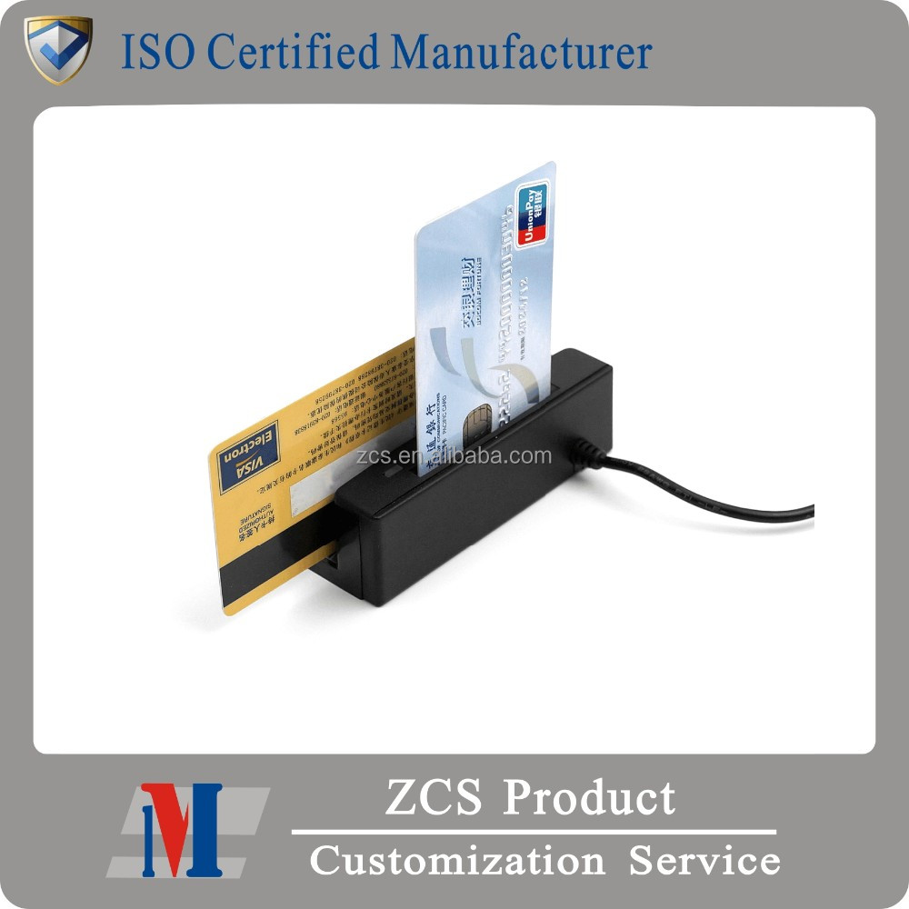 ZCS 2-in-1 pc/sc POS Card Reader combo With SDK, meet Tablet
