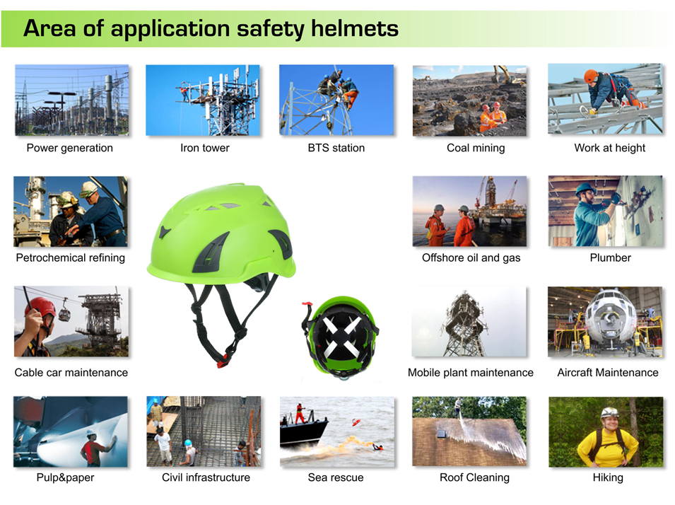 CE EN 397 Industrial safety helmet; Construction worker helmet 9