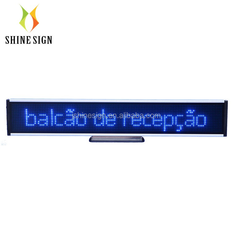 Led bar running moving scrolling bericht tekst display board